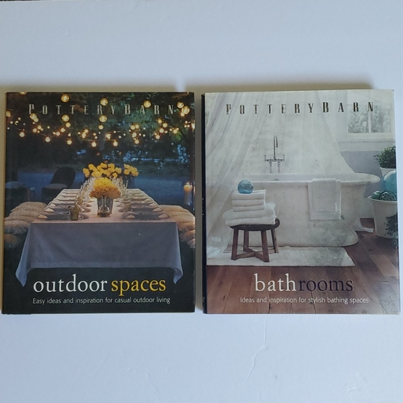 Pottery Barn Bathrooms & Outdoor Spaces Books